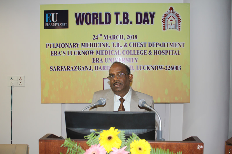 Era University campus will be made TB Free by Next year